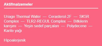 Uriage Roseliane Creme Riche 40 ML aktif içerikler.png (9 KB)